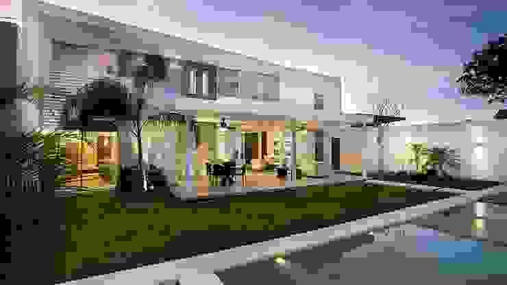 Projekty,  Domy zaprojektowane przez Ancona + Ancona Arquitectos, Nowoczesny