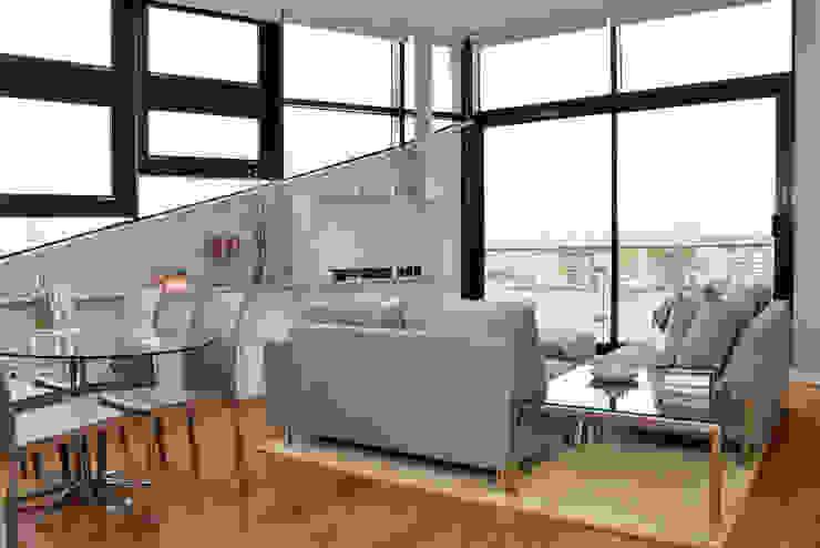 Living Room Modern Living Room by Cathy Phillips & Co Modern