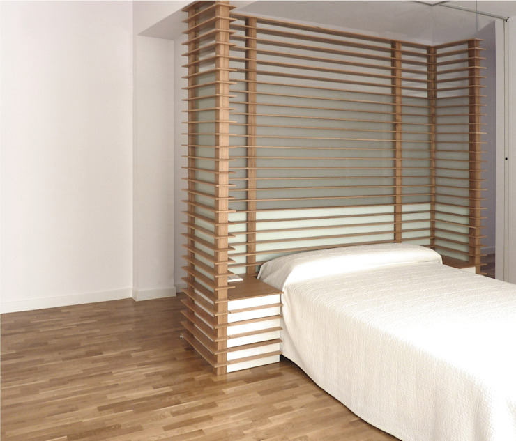 CasaLourdes: Dormitorios de estilo  de dooa arquitecturas,