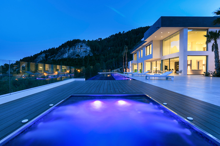 CASA SV II Piscinas de estilo minimalista de RM arquitectura Minimalista