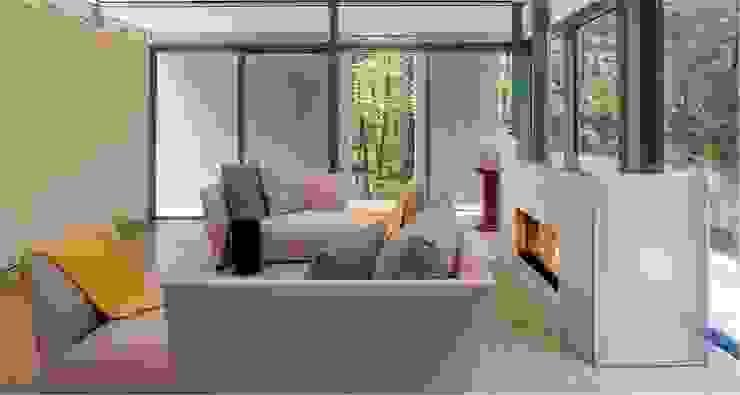 Weston Residence Specht Architects Salon moderne