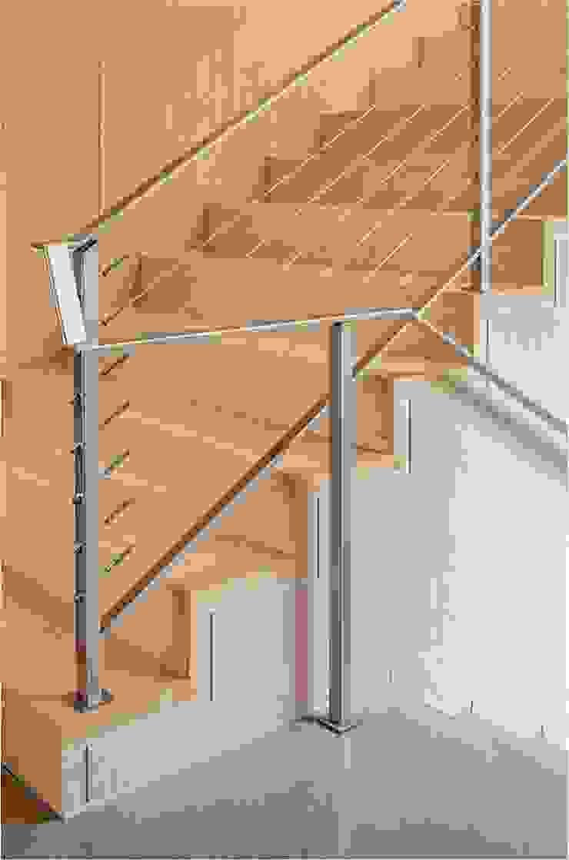 Weston Residence Specht Architects Couloir, entrée, escaliers modernes