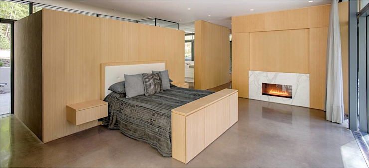 Weston Residence Modern style bedroom by Specht Architects Modern