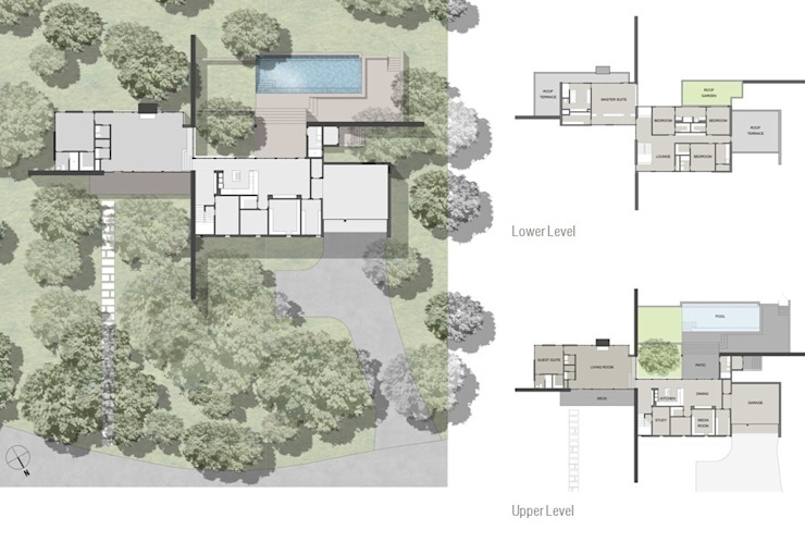West Lake Hills Residence Specht Architects