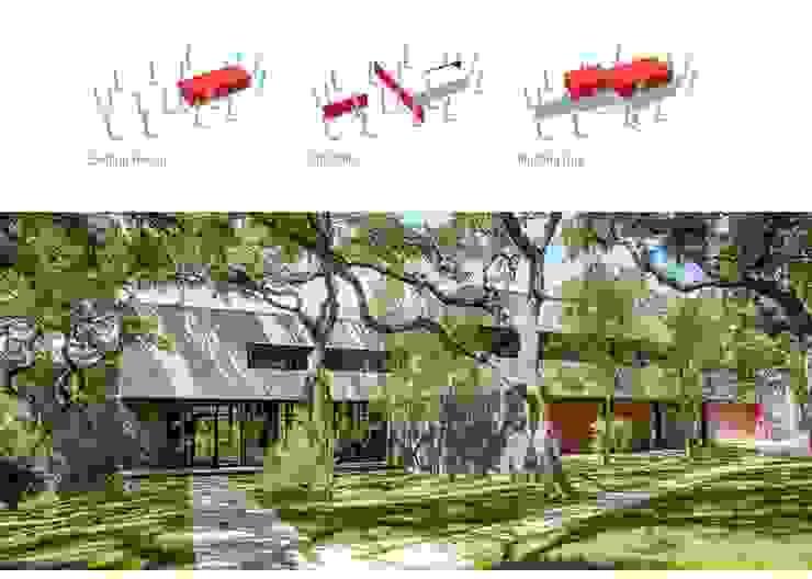 West Lake Hills Residence de Specht Architects Moderno