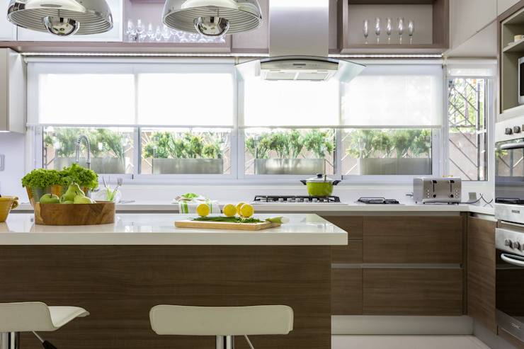 House in Belgrano Cuisine moderne par GUTMAN+LEHRER ARQUITECTAS Moderne