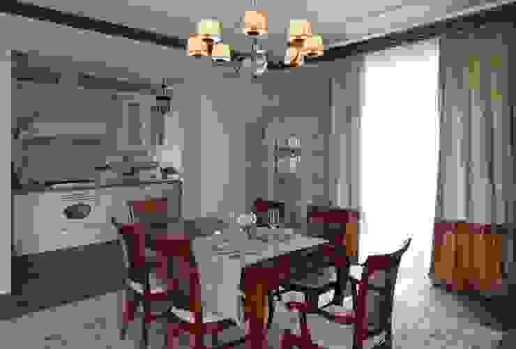 Загородный дом 360м2 Столовая комната в классическом стиле от Tatiana Ivanova Design Классический