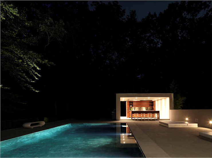 New Canaan Residence Specht Architects Piscine moderne