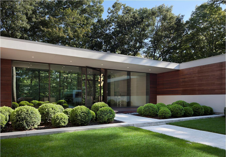 New Canaan Residence Specht Architects Maisons modernes