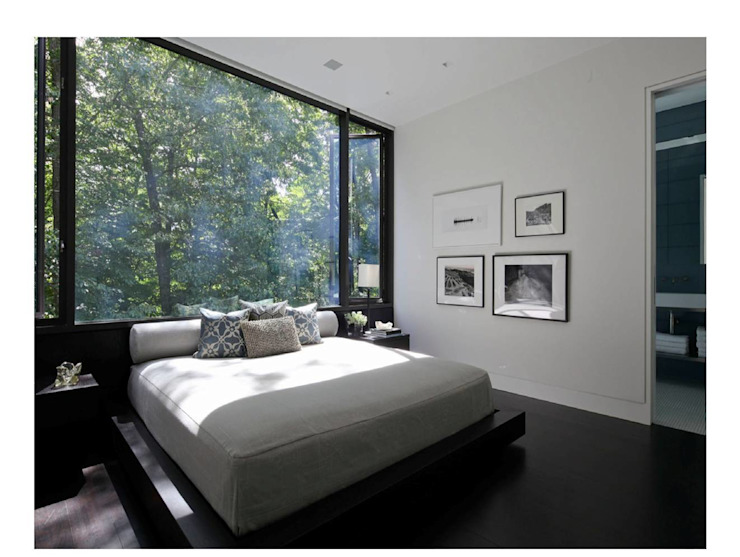 New Canaan Residence Specht Architects Camera da letto moderna