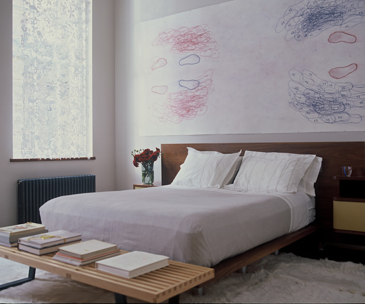 Meltzer Ames Loft Specht Architects Habitaciones modernas