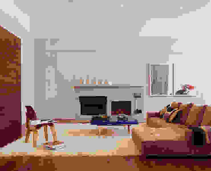 Meltzer Ames Loft Specht Architects Salas modernas