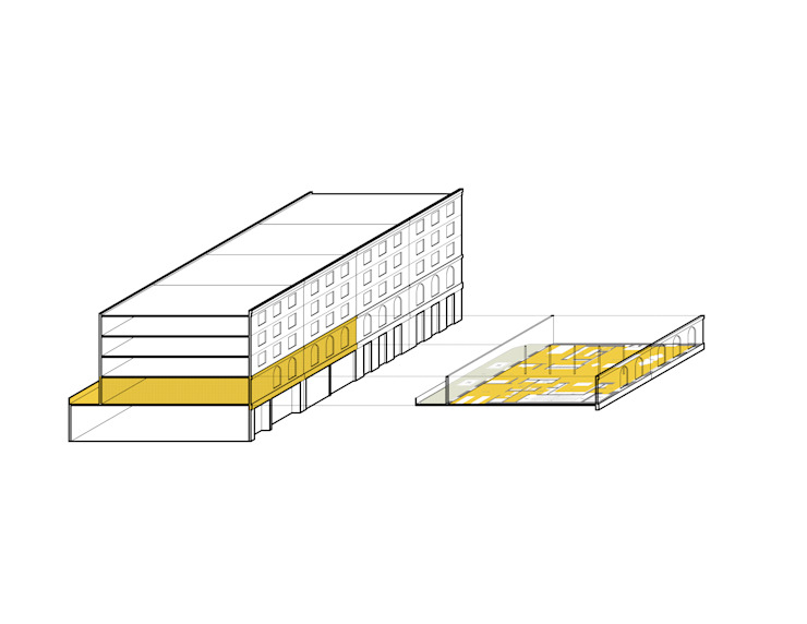Meltzer Ames Loft: modern  by Specht Architects, Modern