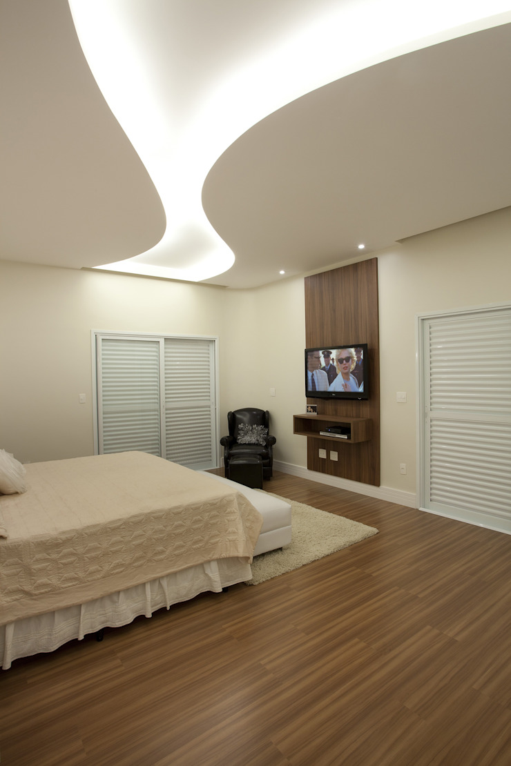 Arquiteto Aquiles Nícolas Kílaris Modern style bedroom