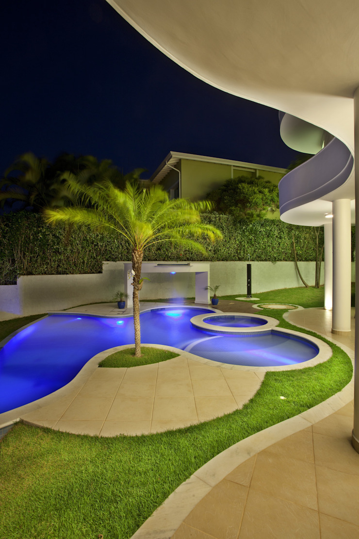 Arquiteto Aquiles Nícolas Kílaris Modern pool
