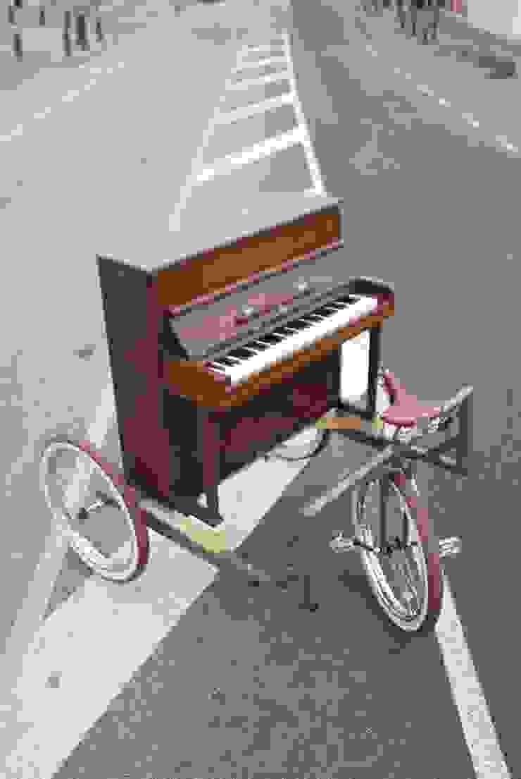 The Freewheeler Pianobike van BRINKHAUS fietsen Industrieel