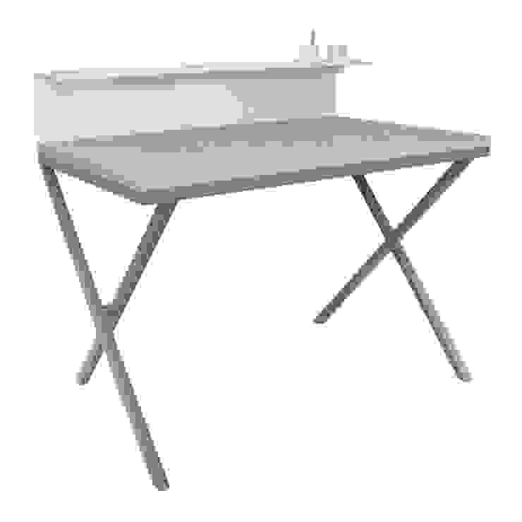 HOME OFFICE minimalistyczne biurko w stylu skandynawskim od take me HOME Skandynawski