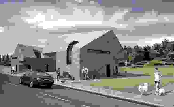 ALEXANDER ZHIDKOV ARCHITECT Casas de estilo escandinavo