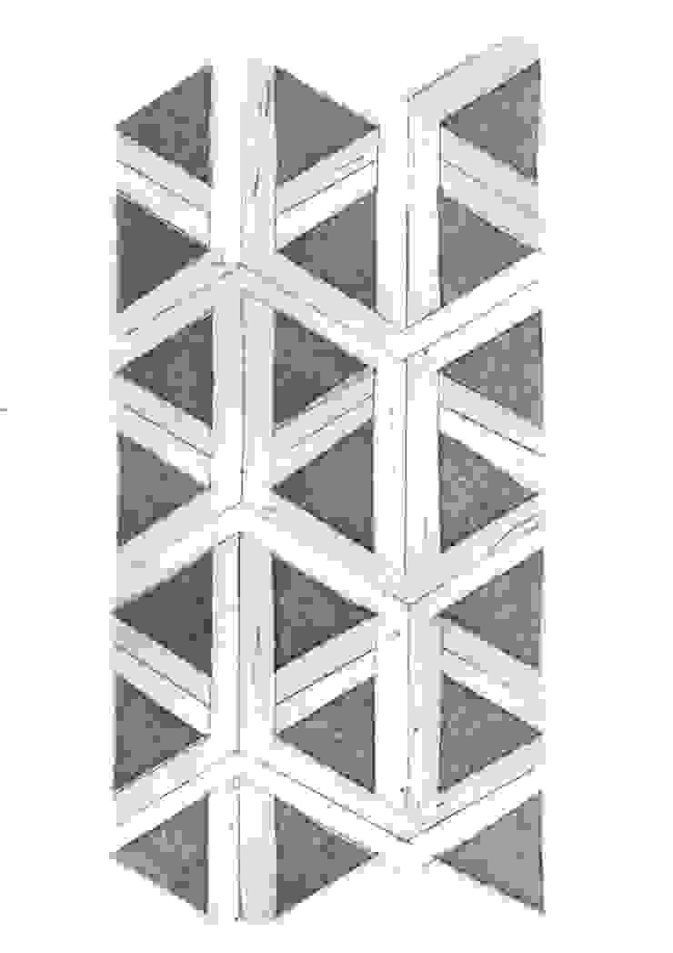 Ets met een grafische print.: modern  door Sophie Wolterink, Modern Papier