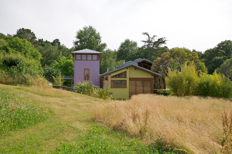 Hillside Farm Exterior One Modern houses by DUA Architecture LLP Modern