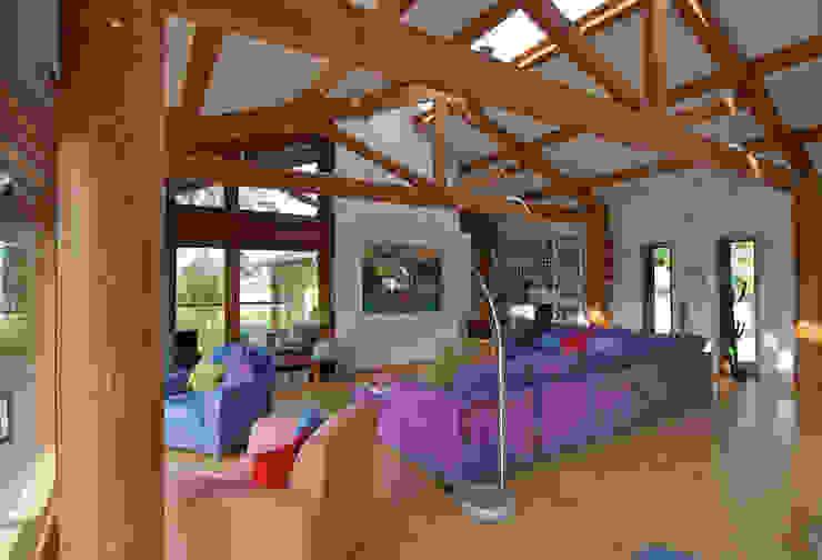 Hillside Farm Lounge One Modern living room by DUA Architecture LLP Modern