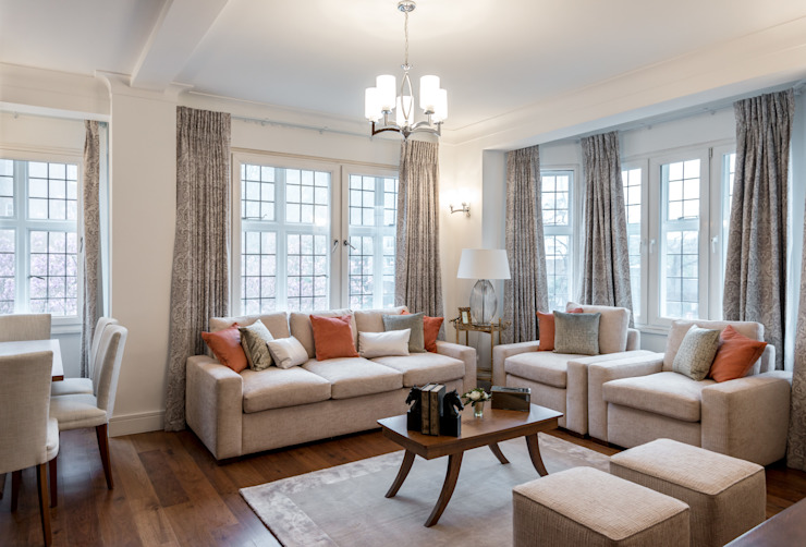 Lounge Klassische Wohnzimmer von In:Style Direct Klassisch