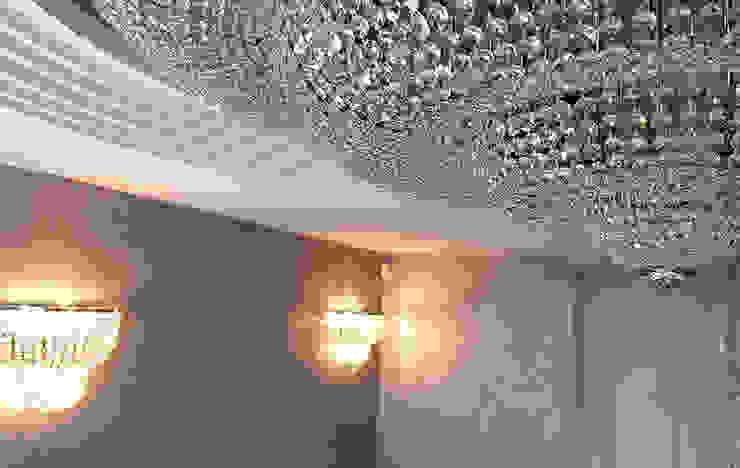 Gran Plafón de cristal Hoteles de estilo clásico de Bimaxlight Clásico