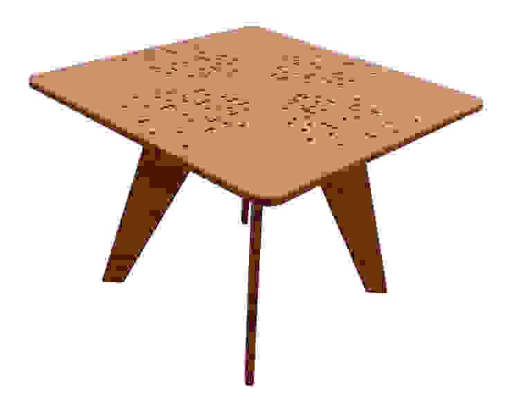 Mesa Beat de Wedgewood Furniture Moderno