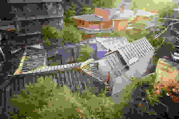 Buam-dong House JYA-RCHITECTS 아시아스타일 주택