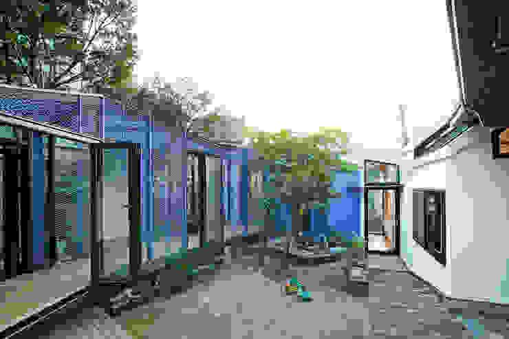 Buam-dong House JYA-RCHITECTS 아시아스타일 정원