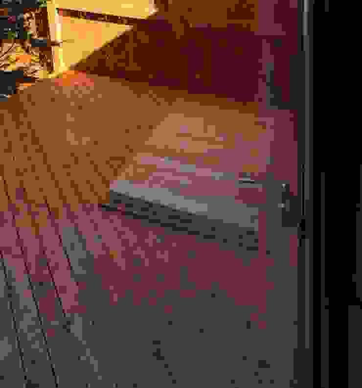 露天風呂 オリジナルスタイルの お風呂 の 川田稔設計室一級建築士事務所 オリジナル