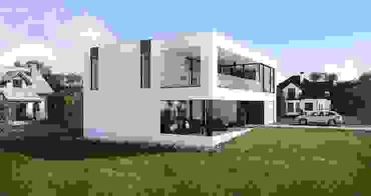 Готовые дома: Дома в . Автор – ALEXANDER ZHIDKOV ARCHITECT,
