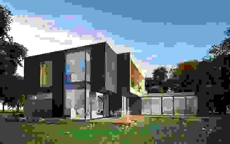 Casas escandinavas de ALEXANDER ZHIDKOV ARCHITECT Escandinavo