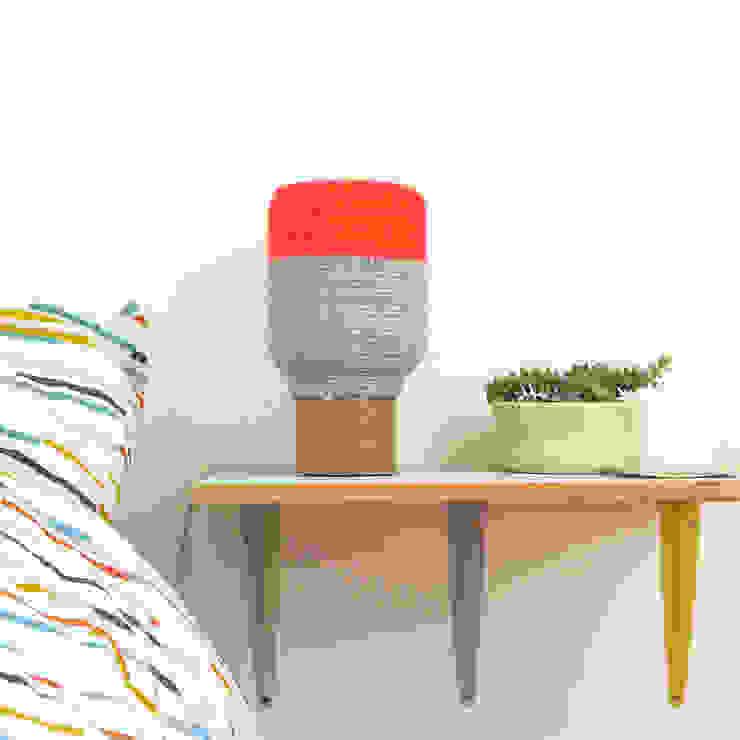 Lampe N°5 par faustine - couleurs maille design Scandinave