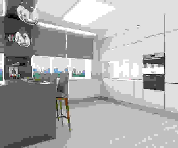 Альбом «Авеню 77-9» Кухня в классическом стиле от ООО 'Студио-ТА' Классический