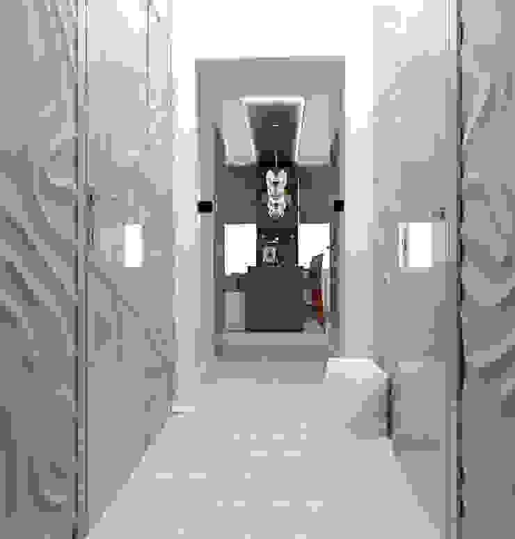 Альбом «Авеню 77-9» Коридор, прихожая и лестница в классическом стиле от ООО 'Студио-ТА' Классический