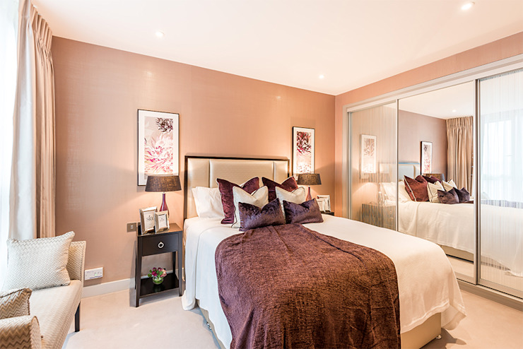 Master Bedroom by In:Style Direct Сучасний