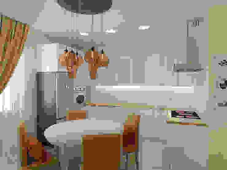 Кухня Кухня в скандинавском стиле от Дизайн-студия 'Эскиз' Скандинавский