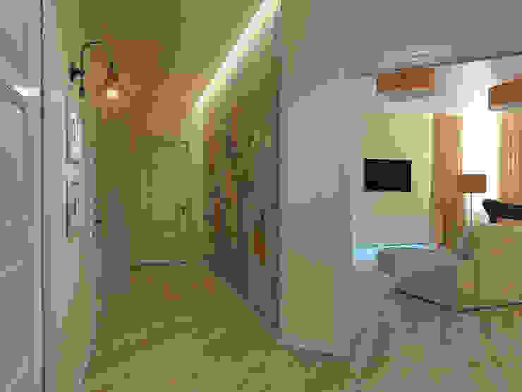 Коридор Коридор, прихожая и лестница в скандинавском стиле от Дизайн-студия 'Эскиз' Скандинавский