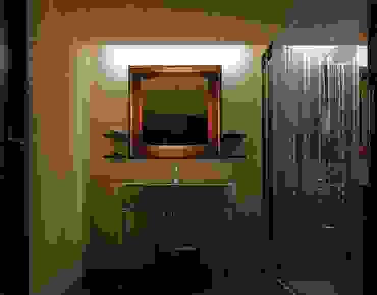 1: ケイデザイン一級建築士事務所が手掛けた浴室です。,モダン