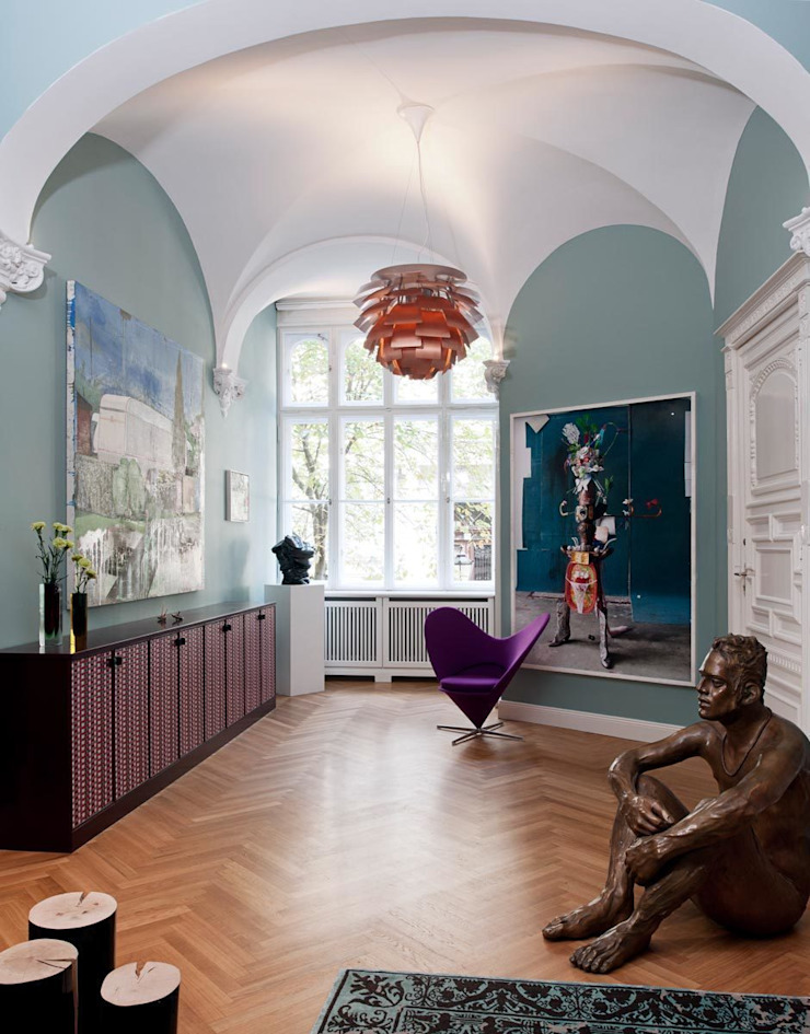 Gisbert Pöppler Architektur Interieur Koridor & Tangga Gaya Eklektik