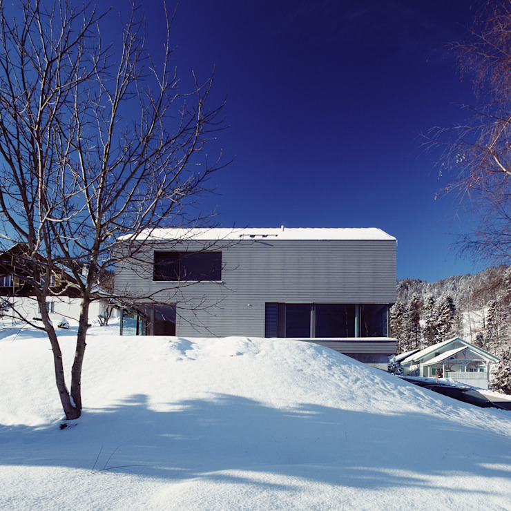 NeubauEinfamilienhaus Brunnadern Moderne Häuser von Markus Alder Architekten GmbH Modern