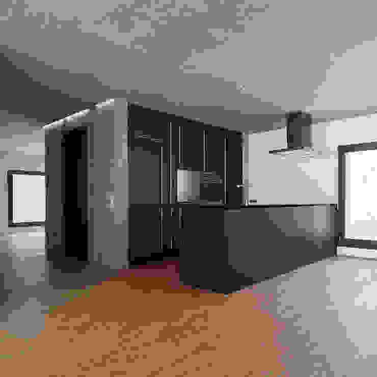 NeubauEinfamilienhaus Brunnadern Moderne Küchen von Markus Alder Architekten GmbH Modern