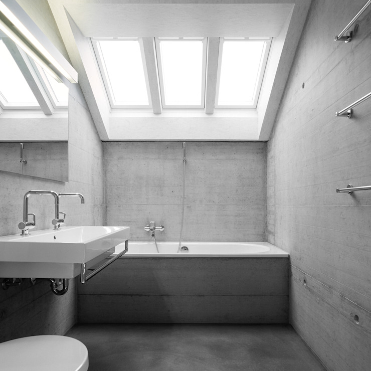 Markus Alder Architekten GmbH Modern style bathrooms