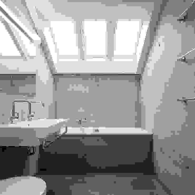 NeubauEinfamilienhaus Brunnadern Moderne Badezimmer von Markus Alder Architekten GmbH Modern