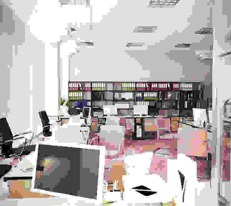 Офисные помещения Офисные помещения в стиле минимализм от Дизайн-студия 'Эскиз' Минимализм
