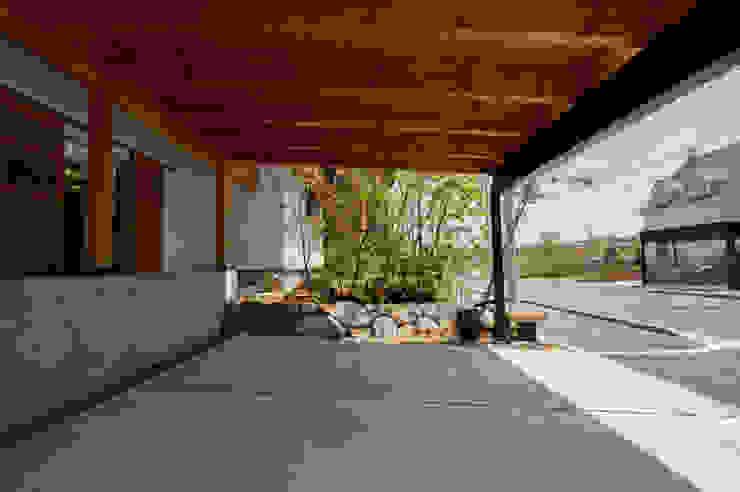 ガレージ前庭 オリジナルな 庭 の Garden design office萬葉 オリジナル