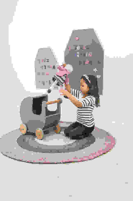 Sebra meidenkamer Pastel Girl: modern  door De Kleine Generatie, Modern