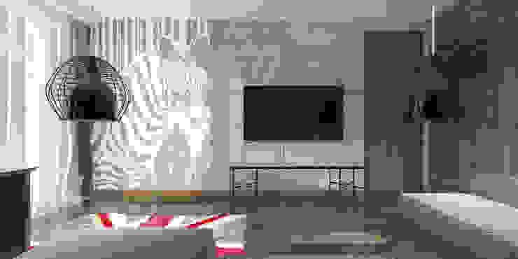 Двухкомнатная квартира Детская комната в стиле модерн от Smirnova Luba Модерн