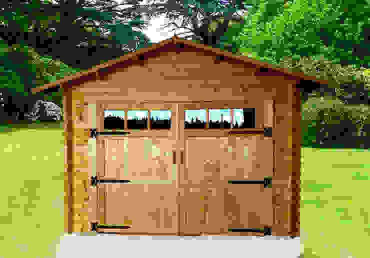 Garage in legno 4×6. Spessore 44 mm di DEKALUX